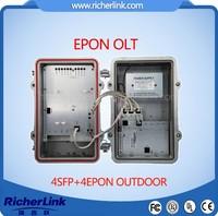 epon onu modem 8port epon olt OEM factory support bdcom,huawei,zte/EPON OLT EPON OLT 4 PORT OLT OUTDOOR EPON OLT RL8004EP