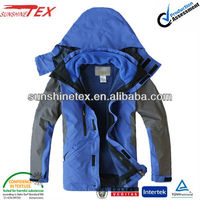 Men's winter garment, outdoor functional waterproof 2 in 1 jacket (13C-125)