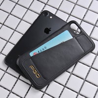 Genuine Leather phone case for iphone 6/ 7/ 8 wallet phone case cell phone accessories mobile case