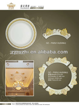 Hot sale PU ceiling medallion/Home&Interior decoration/building material