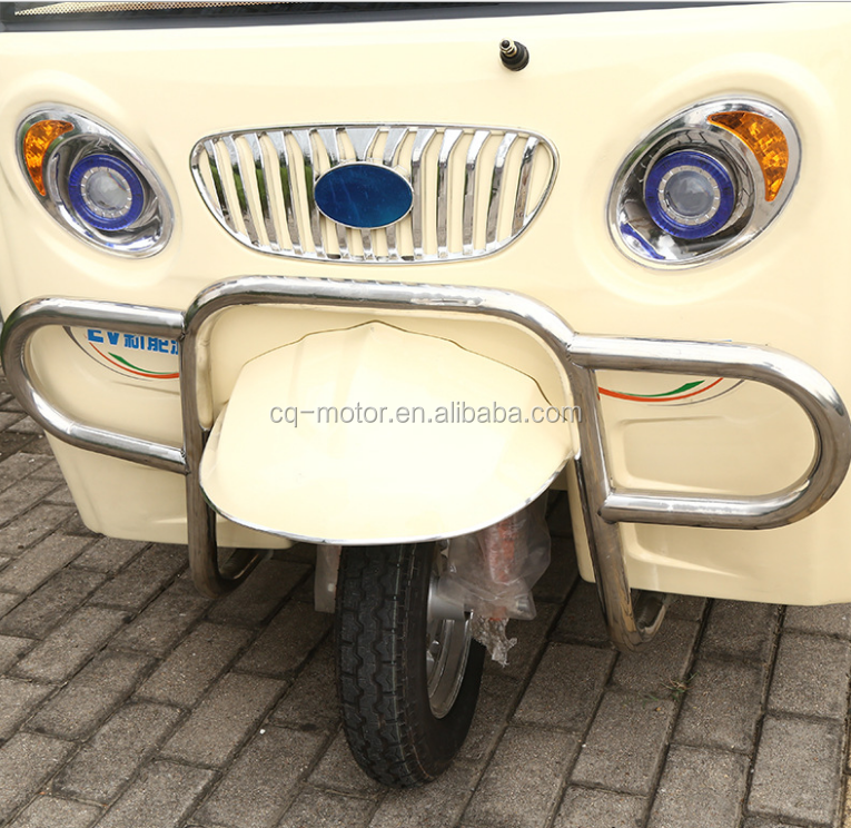 Rickshaw Driving Type and Open Body Type three wheel motorcycle