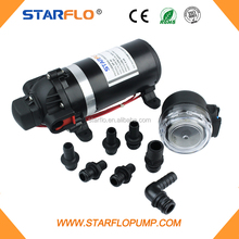 STARFLO 4.6LPM 12V DC electric high pressure portable diaphragm pump for carpet cleaning machine