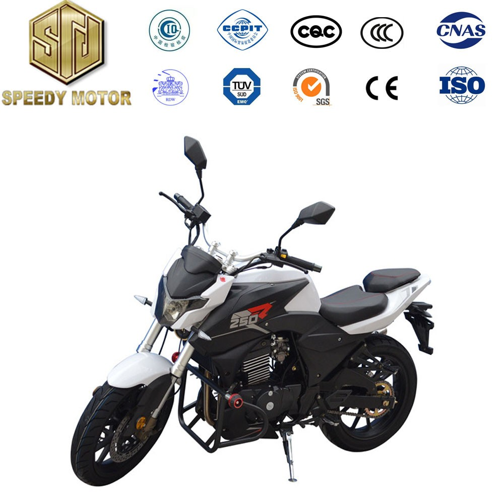 Hot sale double cylinder Hydraulic Suspension 200cc motorcycle