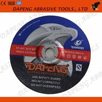 7 inch Abrasive cutting and grinding wheel for carbide saw blade