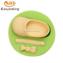 High quality cheap bottom price eco-friendly baby shoe silicone mould