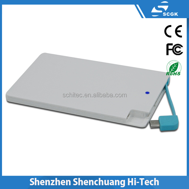 2016 mobile power bank for smartphone made in china