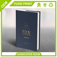 Duplex board grey back high quality custom low cost pantone color letterpress zhengzhou and printing book factory