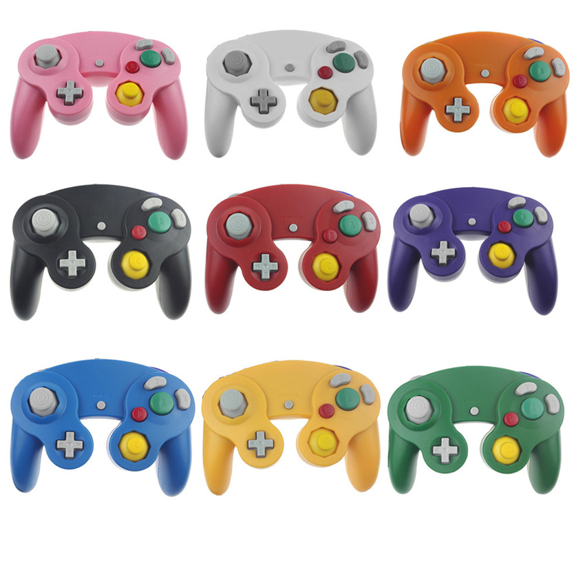 USB Wired Controller For Gamecube Console Handheld Gamepad For NGC GC Joystick For MAC PC Computer MK262