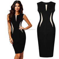 Fashion slim wholesale celebrity bandage bodycon dress 2015