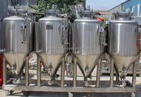 Beer Brewing Plant for Large Brewery Home Use Hotel and Pub Using Sanitary Fittings