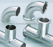 Elbow Equal Tee reducer joint sleeve Stainless steel flange Sanitary pipe fittings