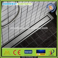 HOT SALES FOR SUS 304/3grate shower floor drain stainless steel channel grating WITH GOOD PRICES FORM MONDEWAY SANITARY