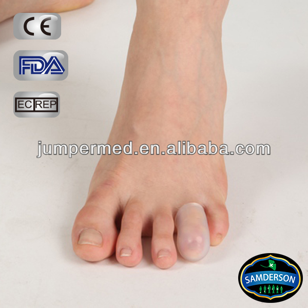 high quality silicone gel foot care / tiptoe gel cap / Finger Protector