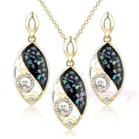 2015 new product antique fashion cz evil eye african gold plated jewelry sets wholesale