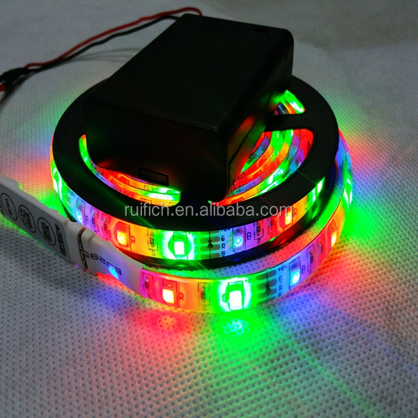 remote controlled battery operated led strip light buy battery. Black Bedroom Furniture Sets. Home Design Ideas