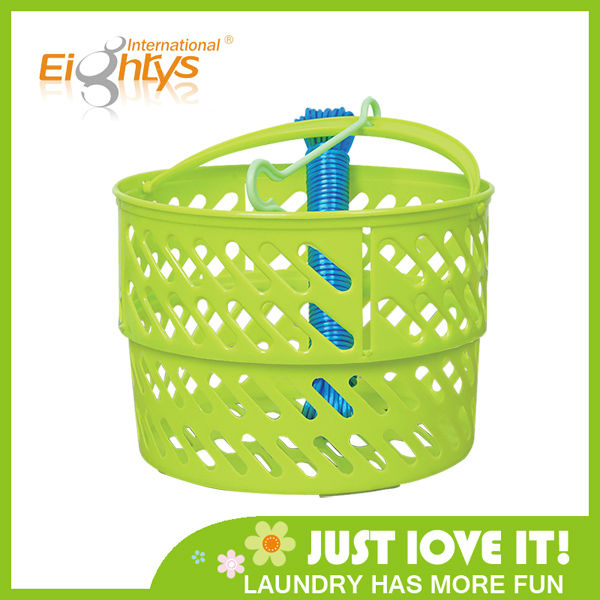 handle plastic basket storage plastic laundry basket