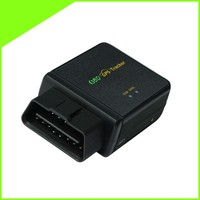 OBD II GPS trackers with GSM SMS communication and low cost for fleet management