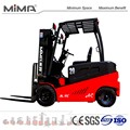 stable electric forklift truck with CE certificate 48V system TK model exported to USA