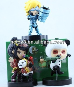 Wholesale the hottest game characters League of Legends(LOL) EZ Teemo and Annie pvc action figure