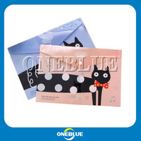 office and schooly supply A4 plastic file folder with button