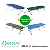 Modern adjustable folding easy carry aluminum alloy life-saving double camping bed