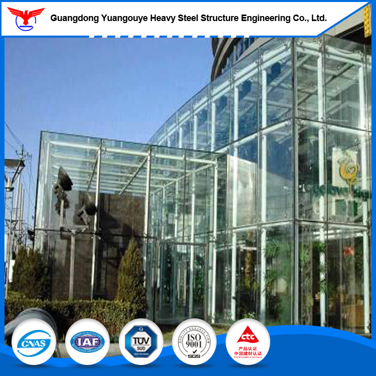 Architecturally Exposed Formwork Structural Steel Structural Steel Frame Curtain Wall
