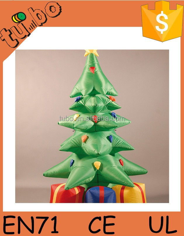 Christmas Outdoor Decoration Inflatable Christmas Tree/Huge Inflatable Christmas Tress For Sale