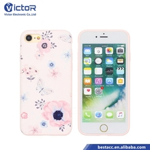 Ultra Slim Back Cover for iPhone 7 Case TPU Phone Case with 3D High Relief Design