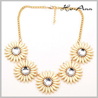 CHEAP PRICES TOP FASHION!!! beautiful flower victorian necklace