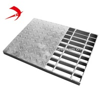 Heavy duty steel grating, stainless steel grating price