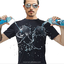 Men's Custom Wholesale China Best Nano-tech Clothing Hydrophobic T Shirt