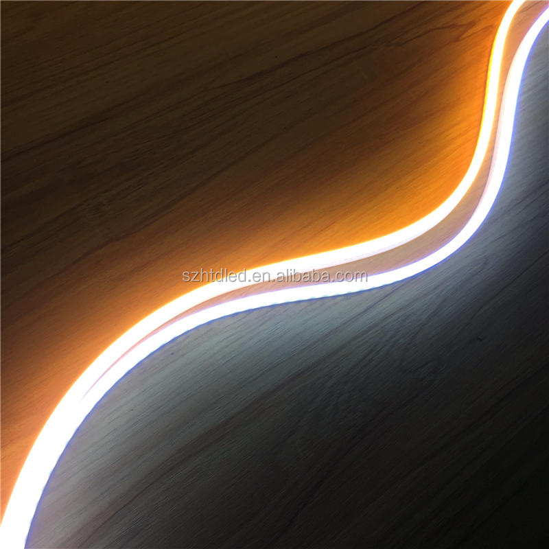 High Brightness Single color Double side <strong>light</strong> <strong>LED</strong> Neon Flexible strip <strong>light</strong> SMD2835 120LEDs