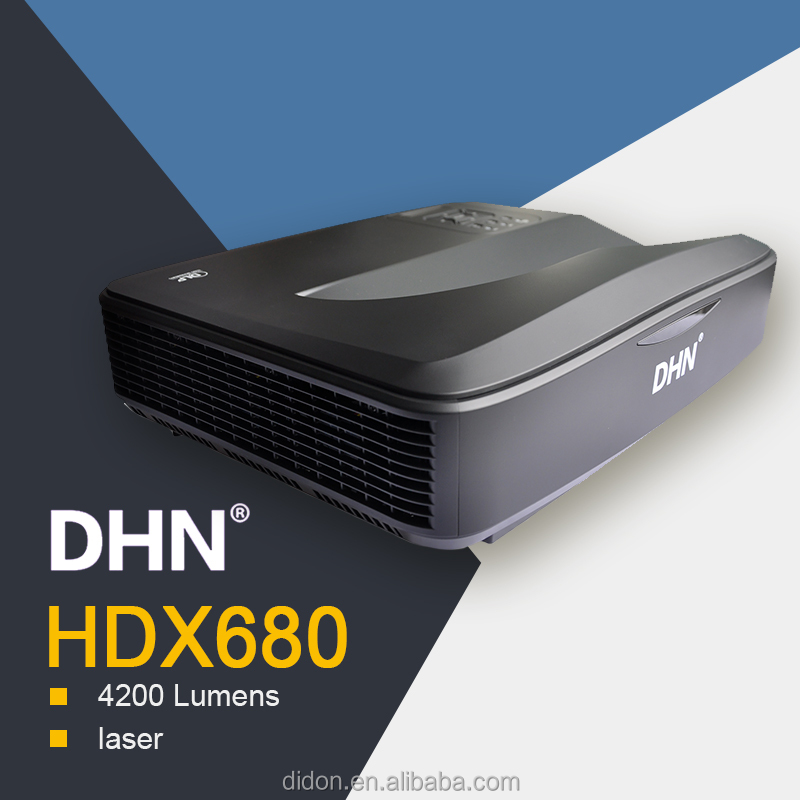 2017 Best selling 4200 lumens hid projector full hd 3d dlp projector