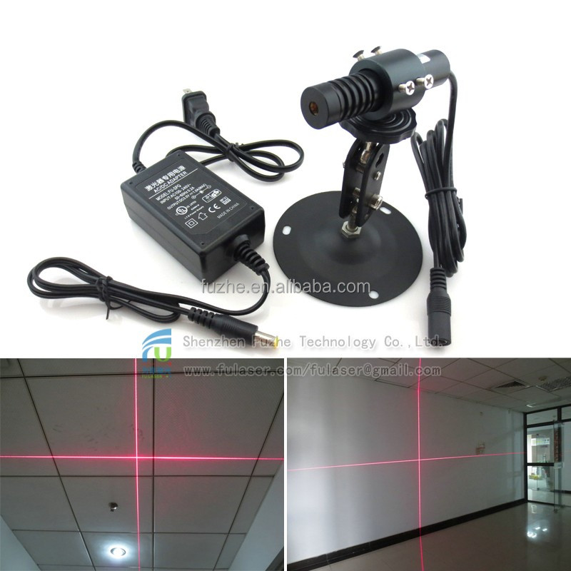 FU650AC100-GD16 16*70mm adjust and fixed focus 3V laser x + 100mw, RED cross laser light 100mw