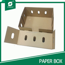 corrugated paper apple fruit packaging boxes wholesale cardboard box for fruit and vegetable factory