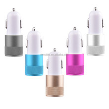 Hot Selling Universal Auto Cigarette Lighter 5V 2.1A Dual USB Car Charger