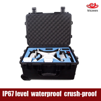 China Shanghai custom oem Tricases waterproof plastic carrying case for dji phantom 3 and 4