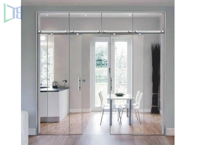 Luxuriant in design aluminum glass door price for industrial project
