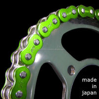 Japanese high quality light weight chain for KAWASAKI