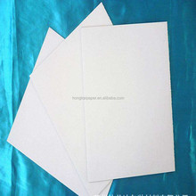 230-450g White Coated Paper Board Duplex Board With Grey Back