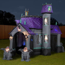 2017 most popular halloween inflatable haunted house for sale