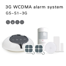 Smart 3G GSM Wireless home burglar Alarm System SMS Mobile App Control DIY Sensors