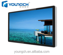 Advertising player digital signage enormous and huge screen display with deep color 3D feeling effect 70 inch lcd TV