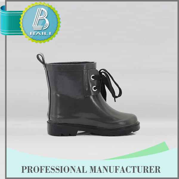 China supplier Customised designs 100% Natural Rubber jelly rain boots shoes