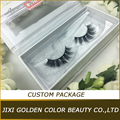 Hot sale beauty false eyelashes,3D 100%natural real human hair strip lashes