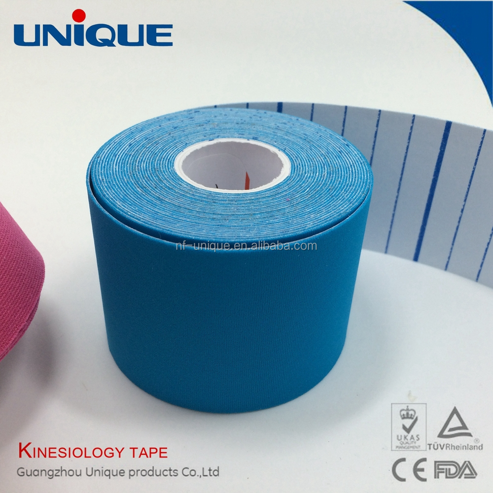 sports tape custom hypoallergenic adhesive ce/fad/iso approved kinesiology tape