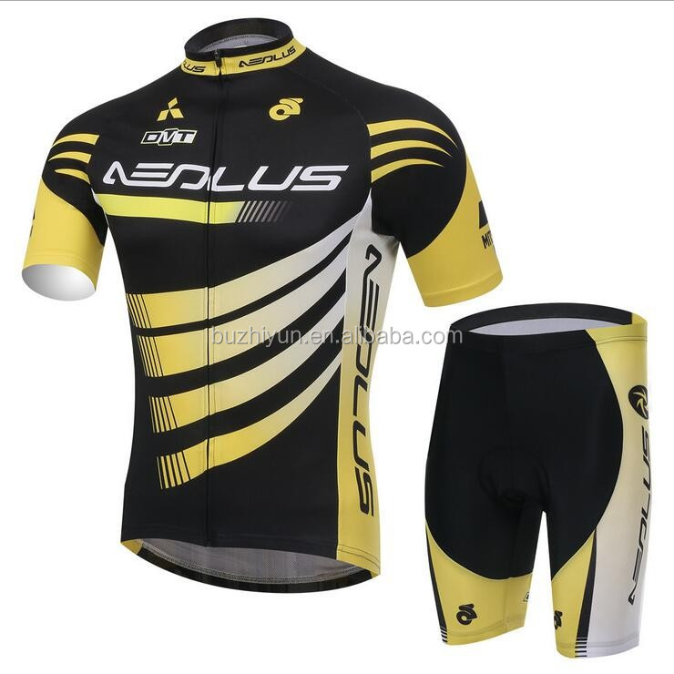 polyester Spandex active sports bicycle riding clothes Fabric