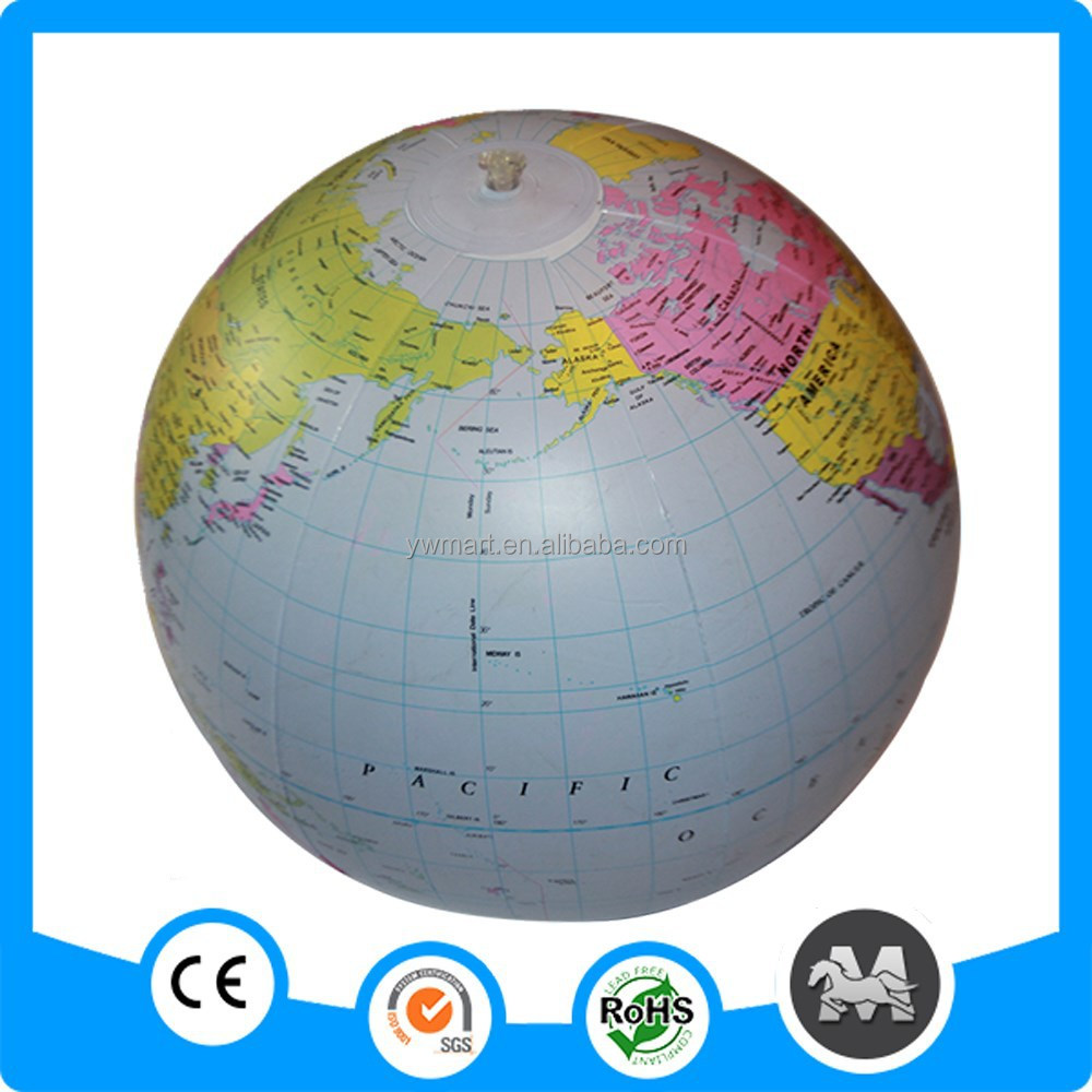 Wholesale inflatable globe ball, inflatable globe, inflatable earth globe
