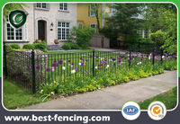 Modern Type Decorational Metal Garden Fence and Gate Design