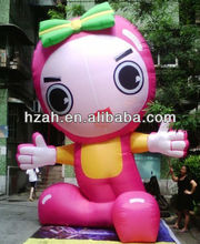 Nice Inflatable Girl Cartoon